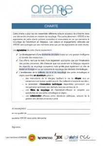 Charte AREME